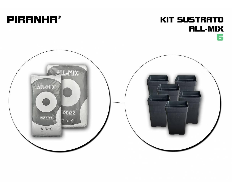 Kit Sustrato 6 All Mix