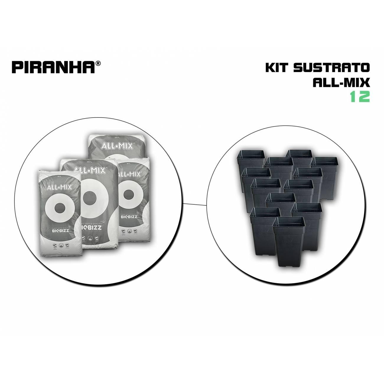 Kit Sustrato 12 All Mix