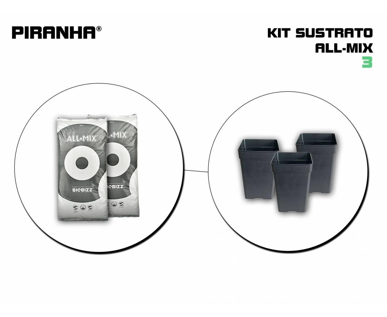 Kit Sustrato 3 All Mix