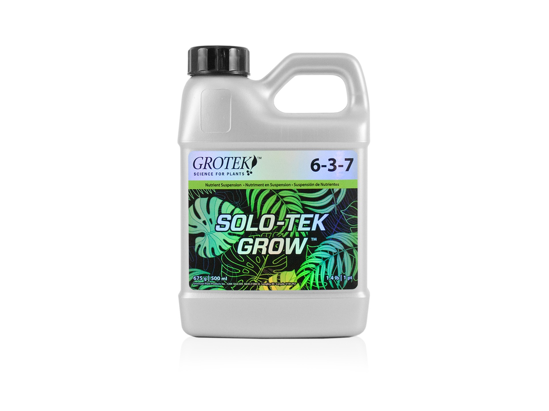 Solo-Tek Grow 500ml