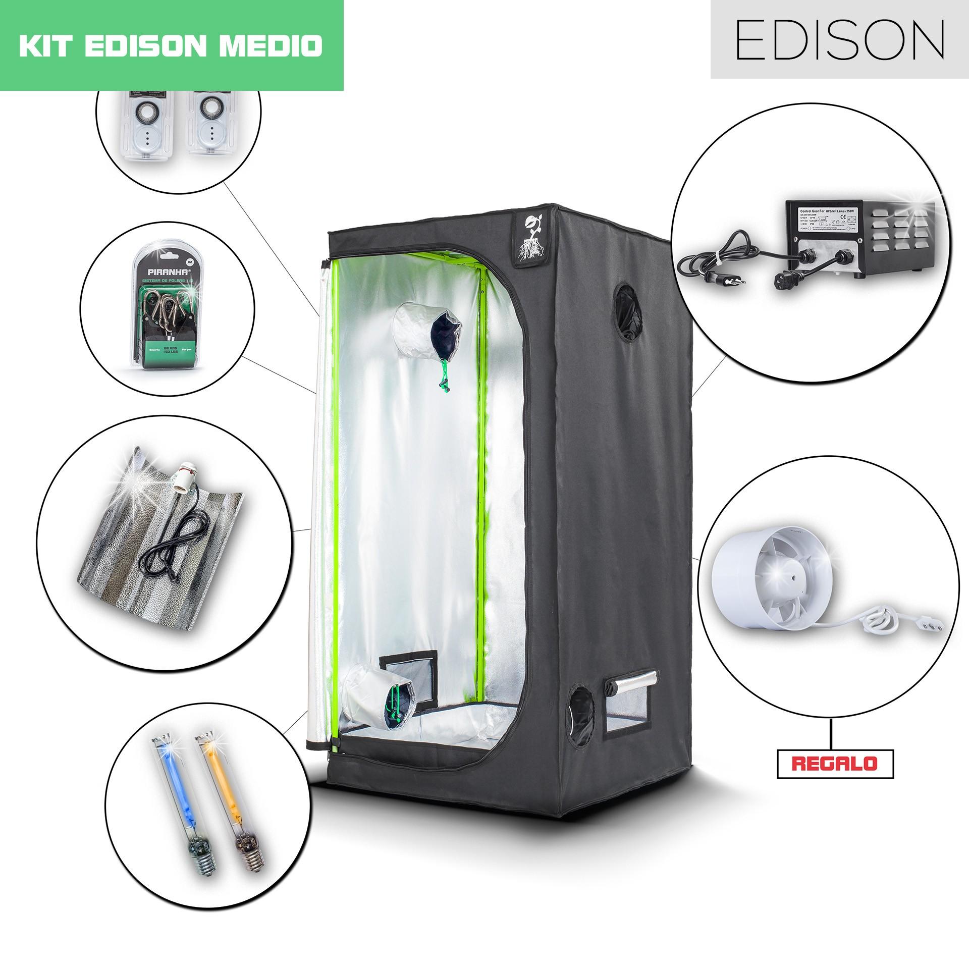 Kit Edison Pro 80 - 250W Medio