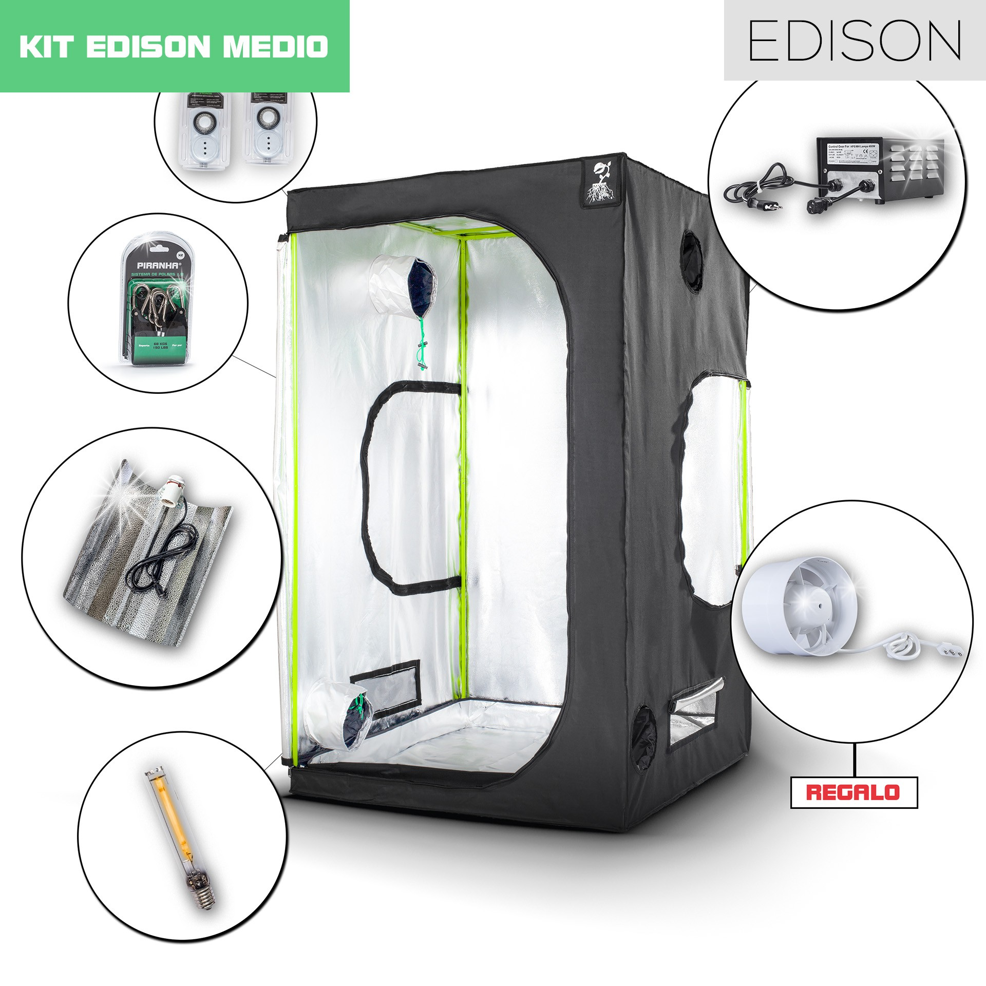 Kit Edison 120 - 600W Medio