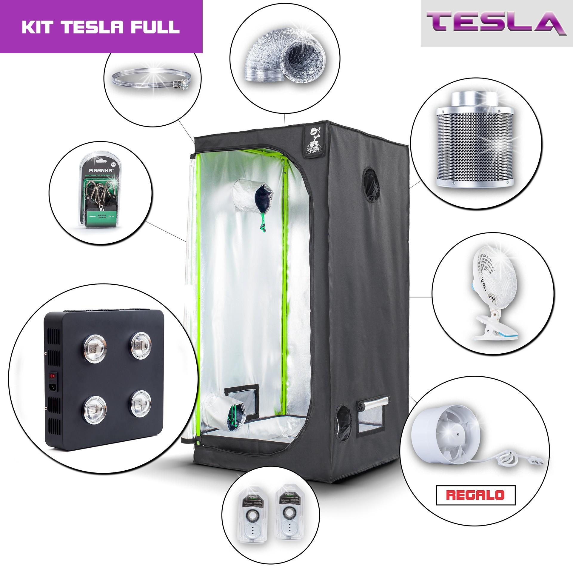 Kit Tesla 80 - T360W Completo