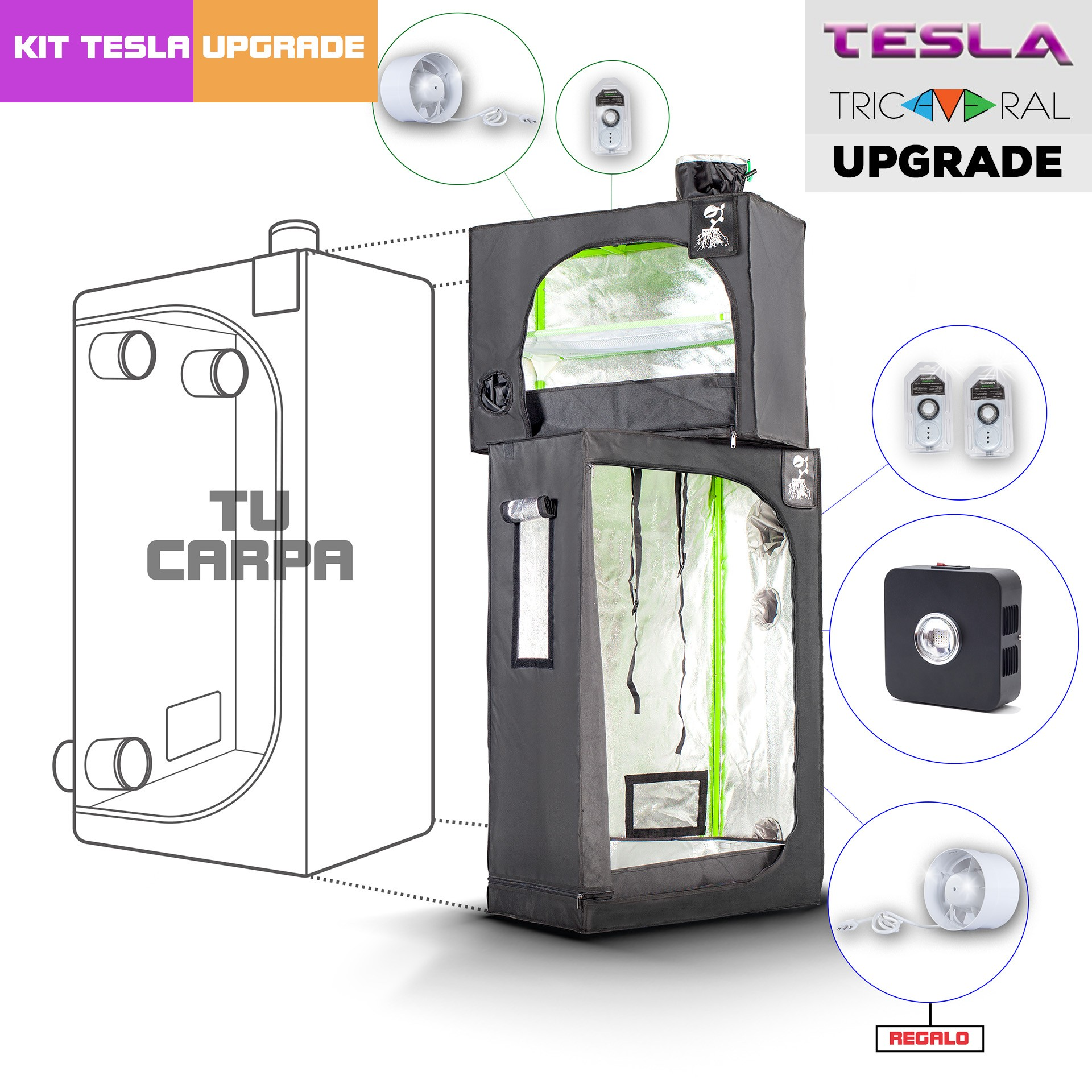 Upgrade Tricameral Tesla