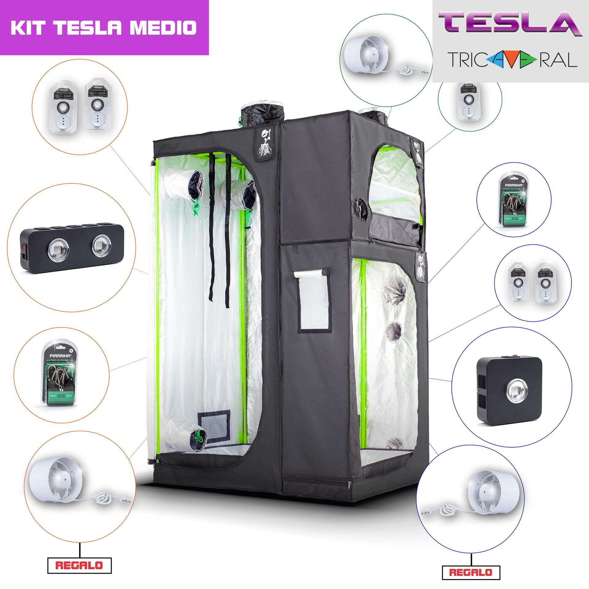 Kit Tricameral Tesla-Medio
