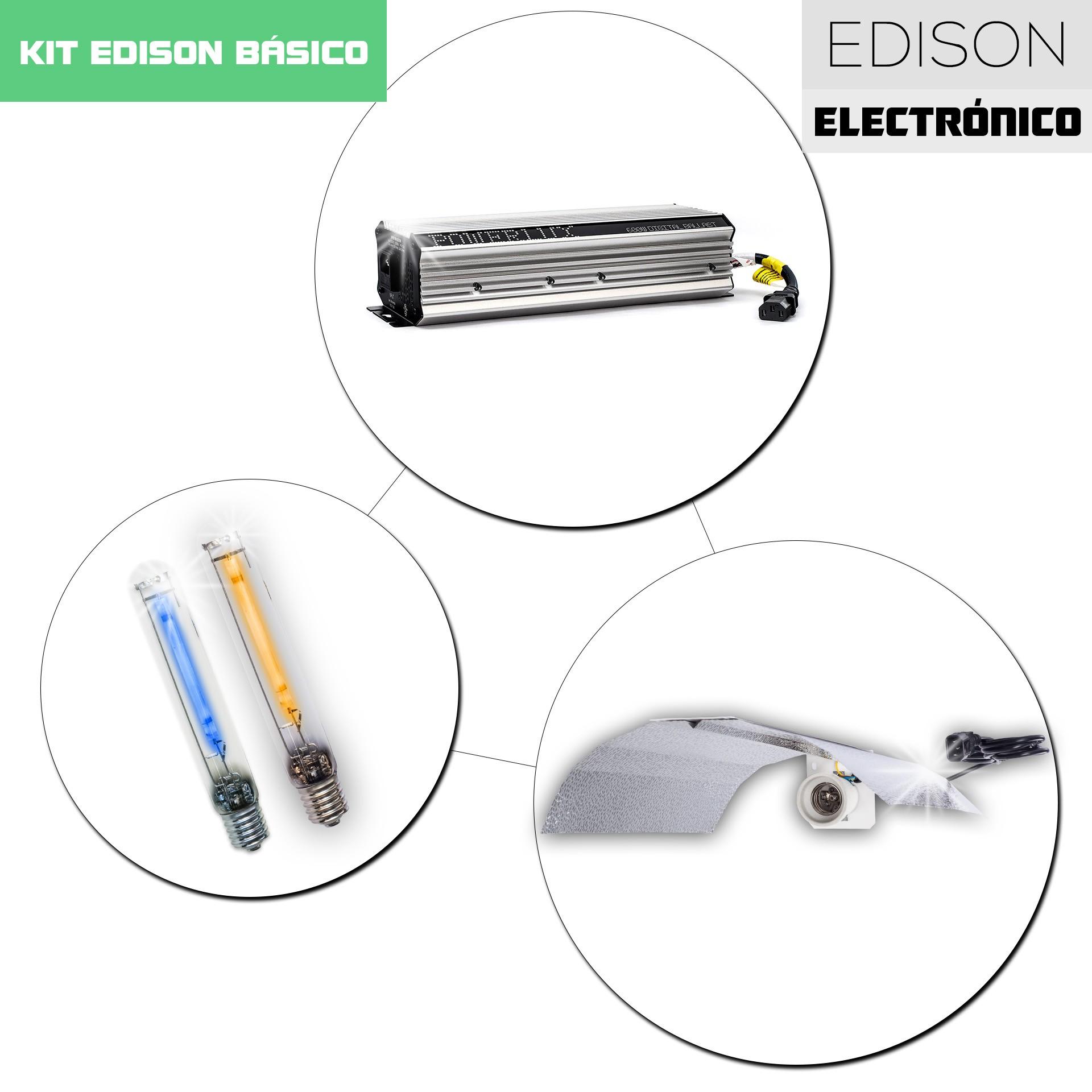 Kit Edison Electrónico HID 400HM/600HPS