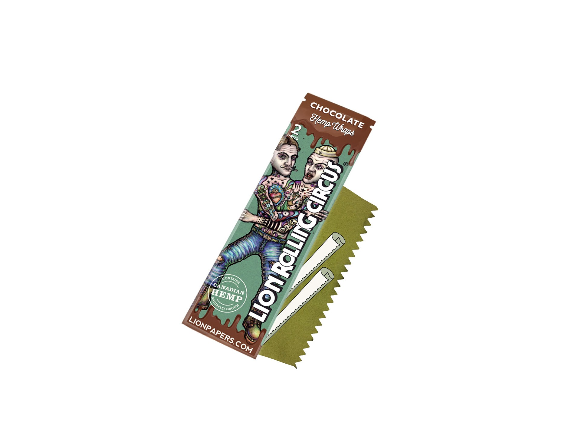 Blunt Wrap Chocolate Lion Rolling Circus