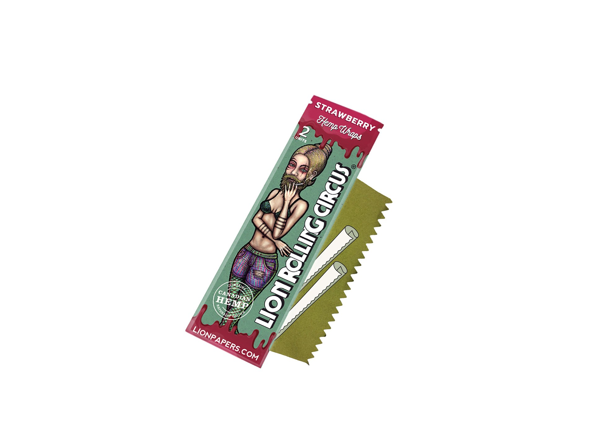 Blunt Wrap Strawberry Lion Rolling Circus