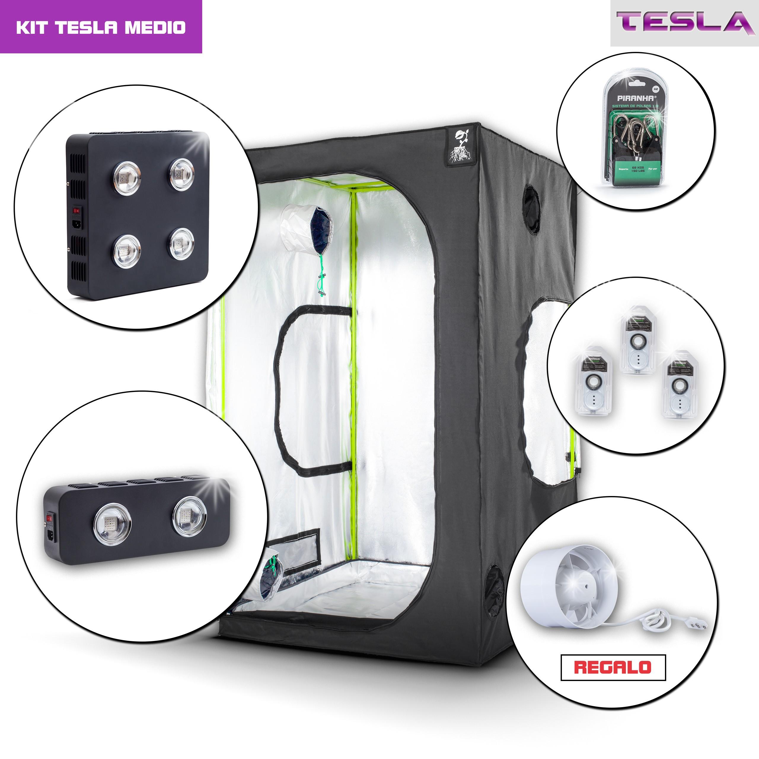 Kit Tesla 120 - 540W Medio