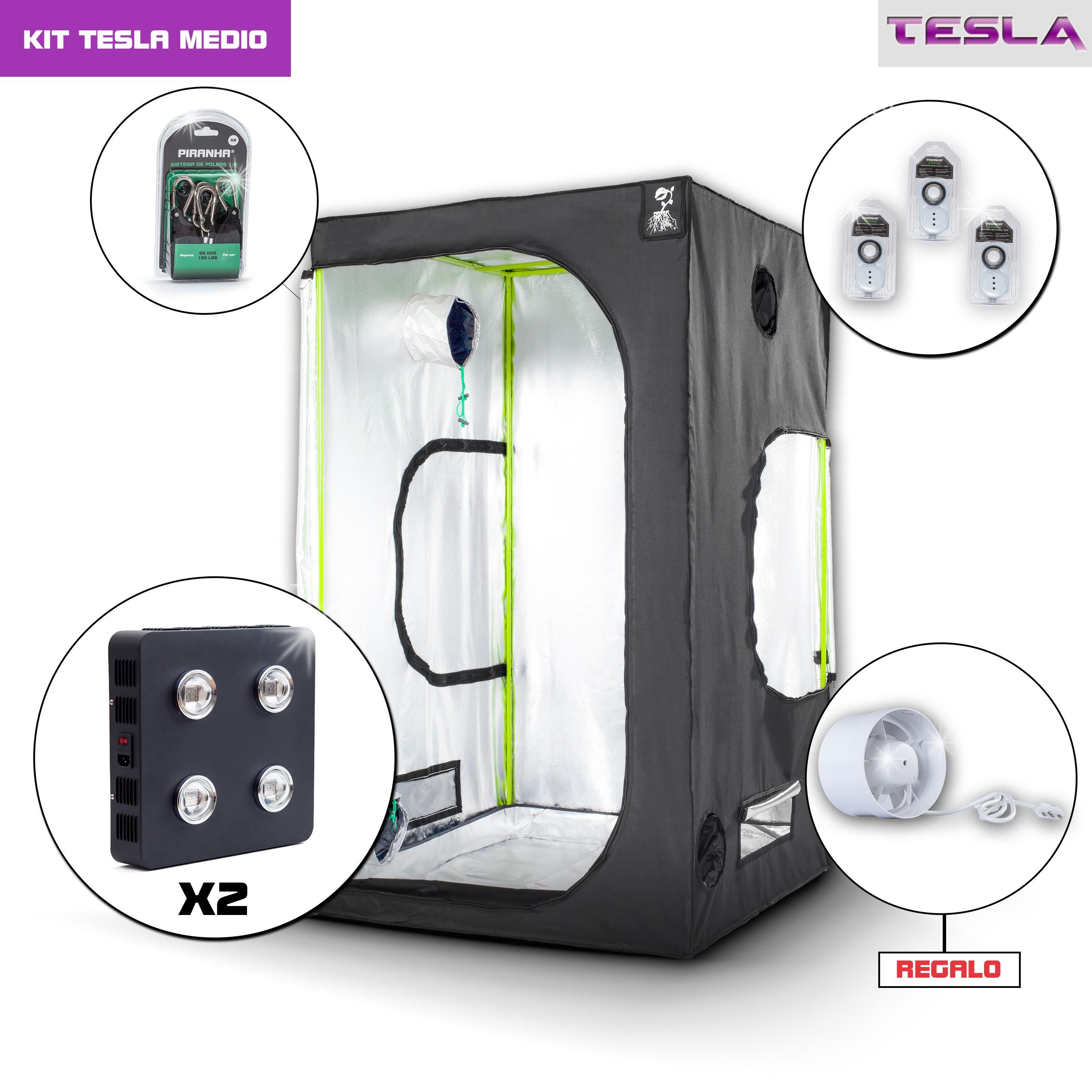 Kit Tesla 120 - 720W Medio