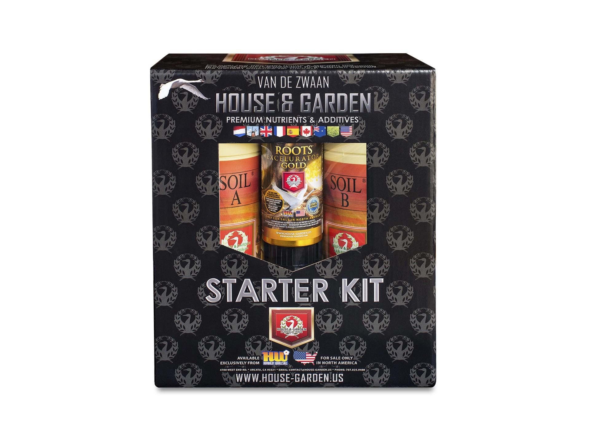 House & Garden Starter Kit Soil