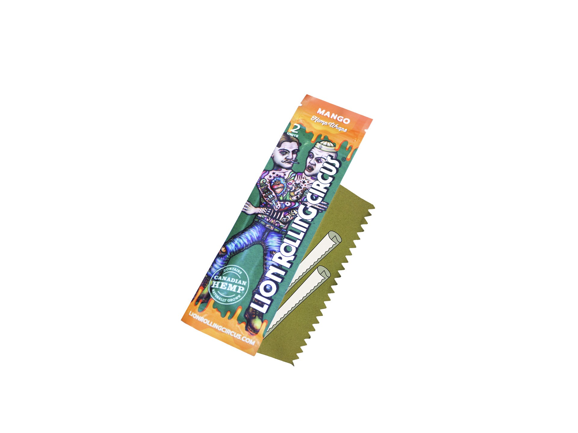Filtro Gummed Silver Lion Rolling Circus