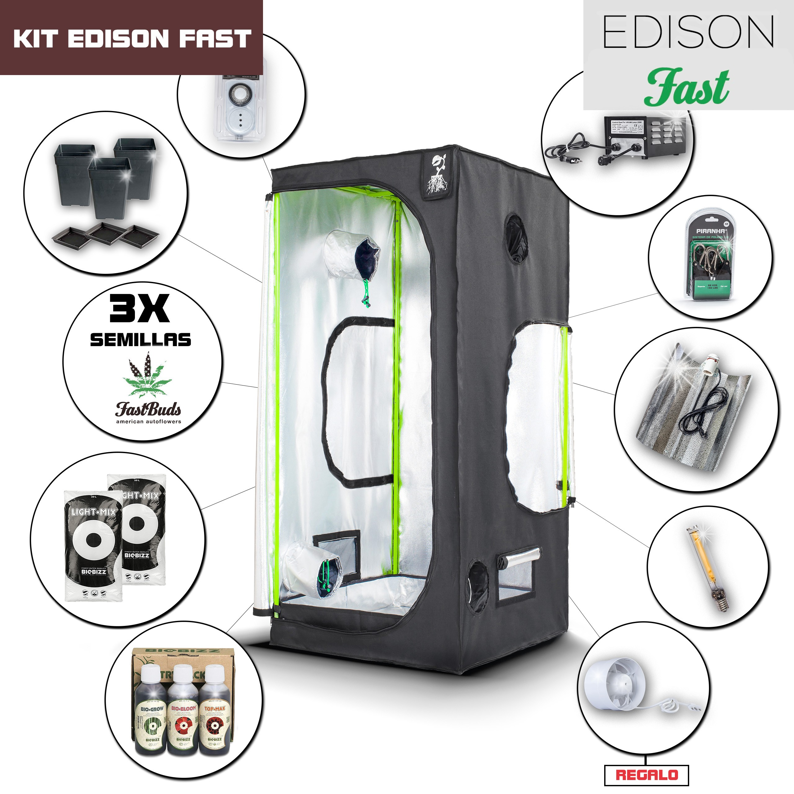 Kit Edison Fast 80 - 250W
