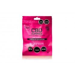 CBD Gummies 25mg - Frambuesa