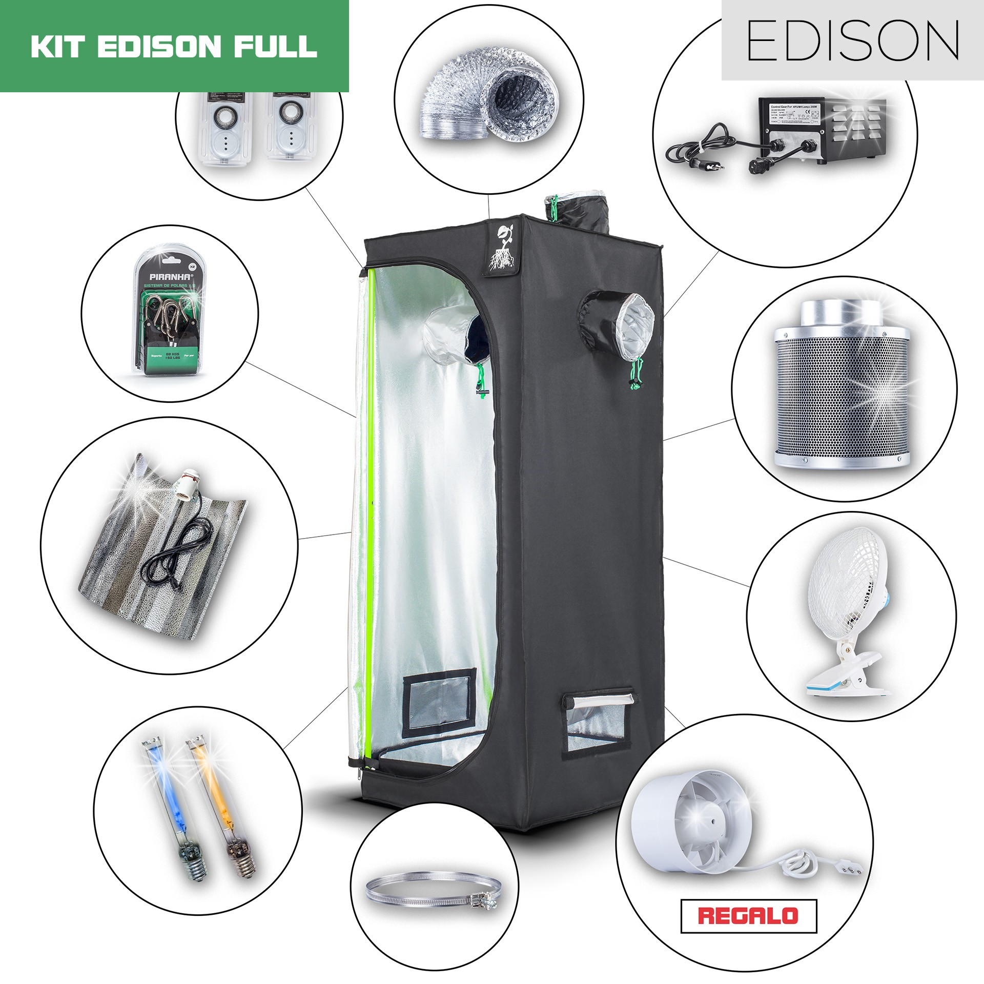Kit Edison 60 - 250W Full