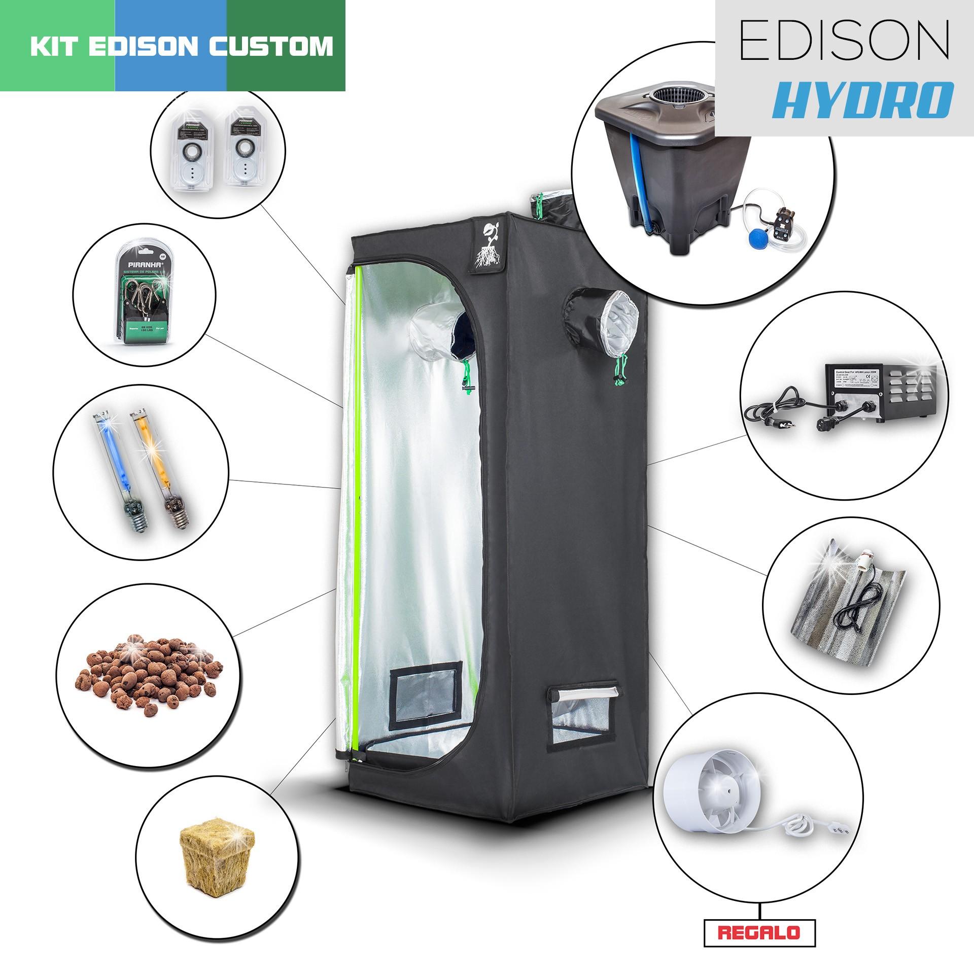 Kit Indoor Edison Hydro 60 - 250W Starter