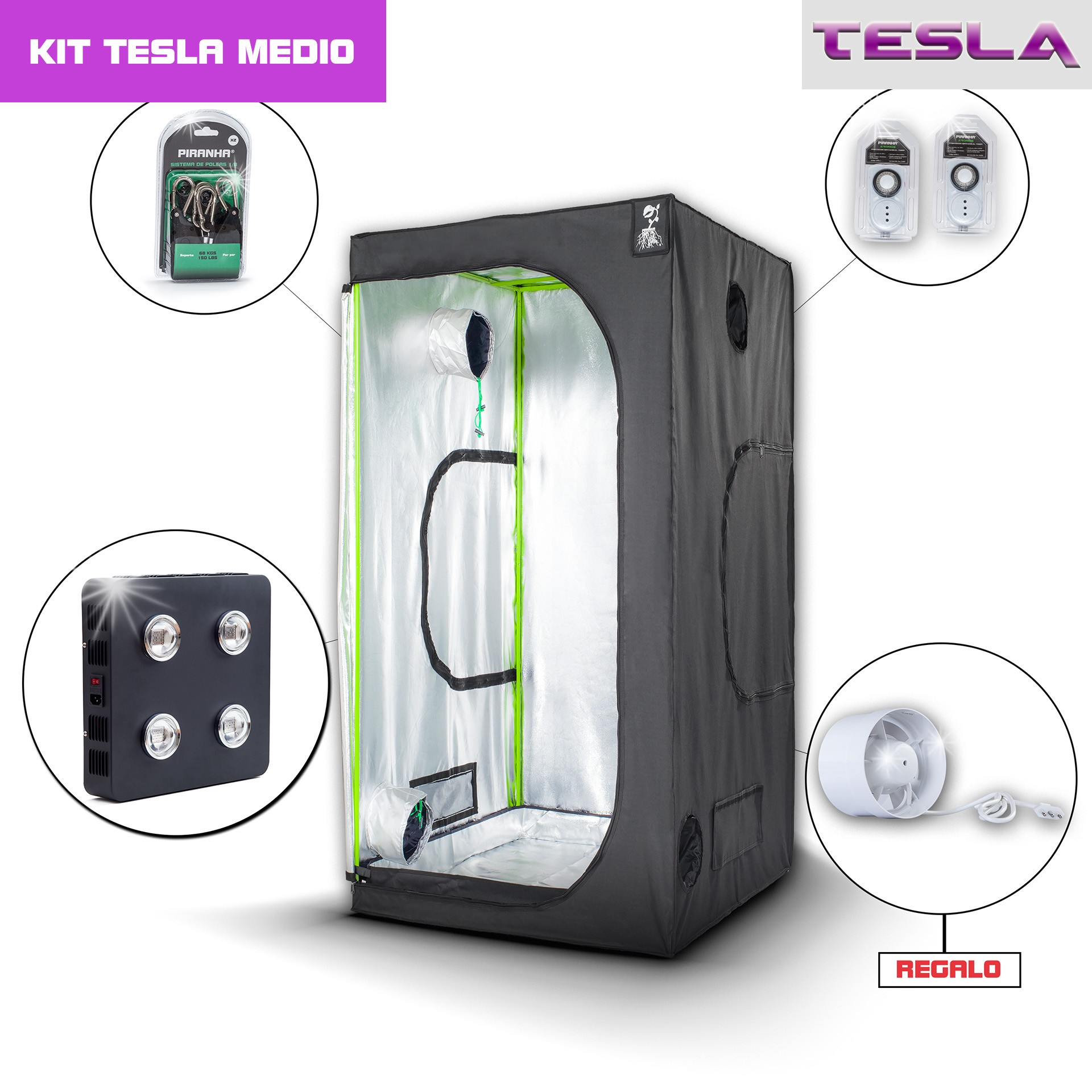 Kit Tesla 100 - T360W Medio