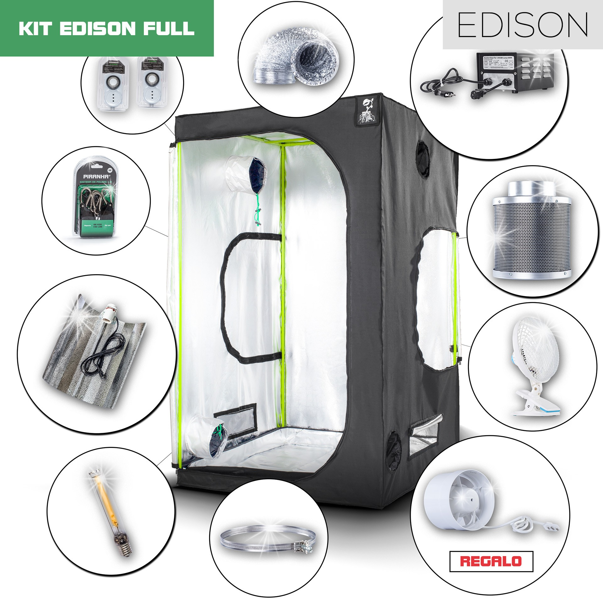Kit Edison 120 - 600W Full