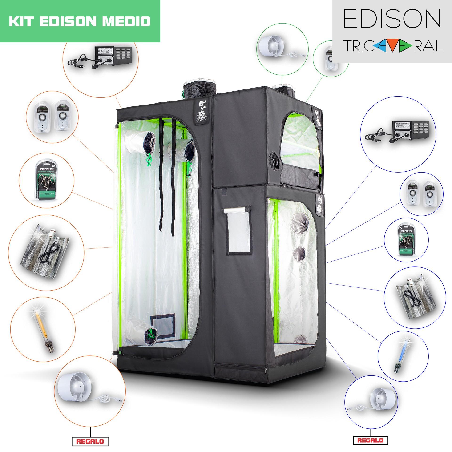 Kit Tricameral Edison - Medio