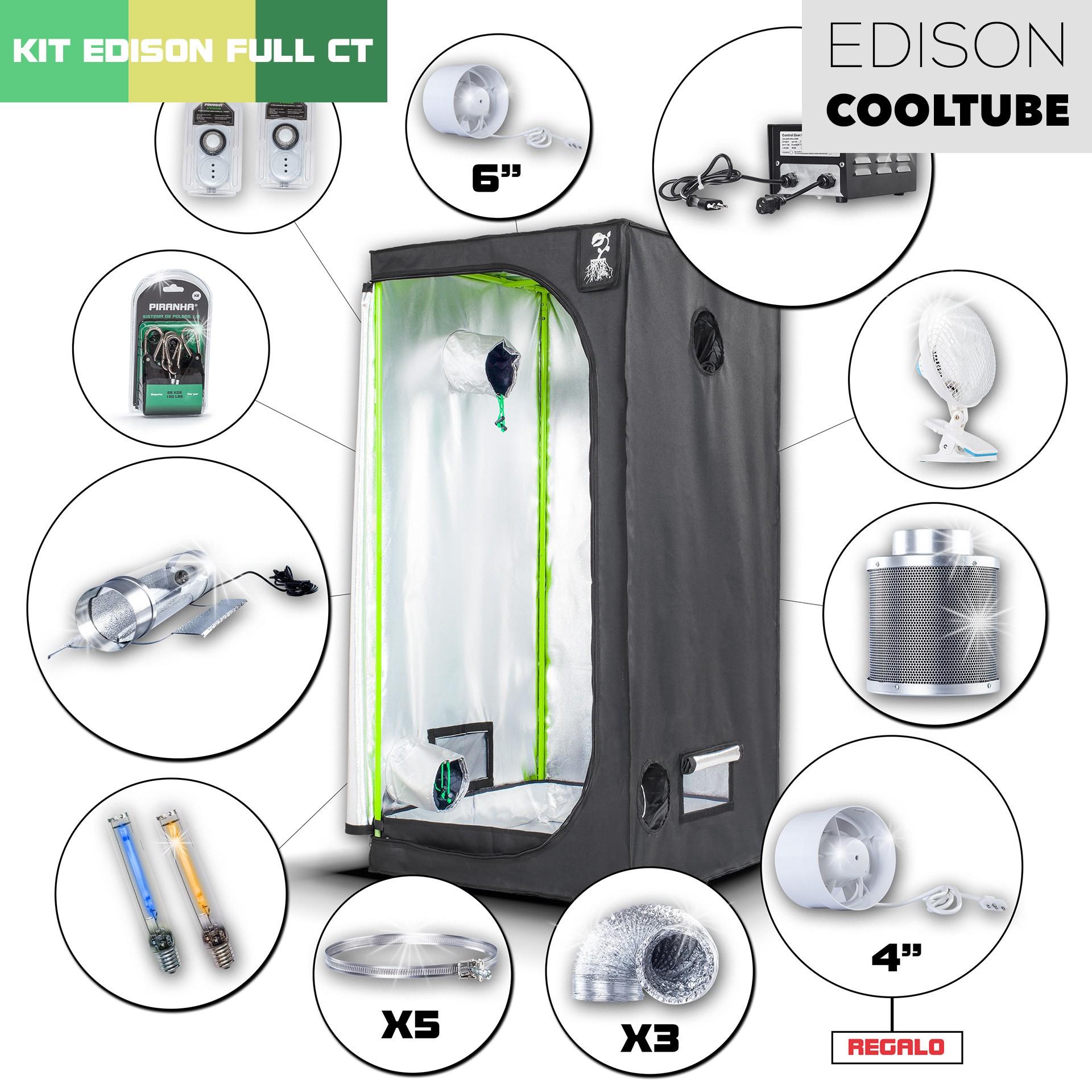 Kit CoolTube 80 - 250W Edison Completo