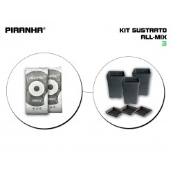 Kit Sustrato 3 All-Mix
