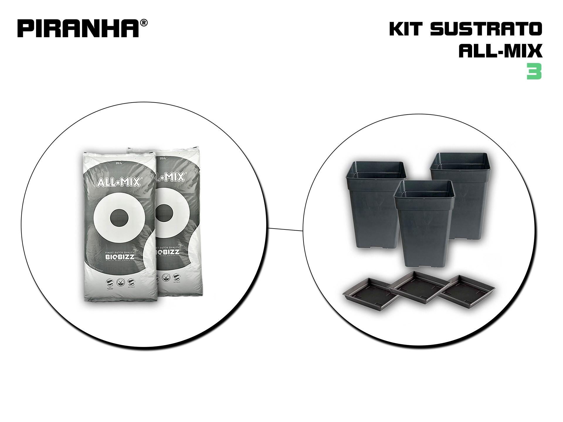 Kit Sustrato 3 All-Mix