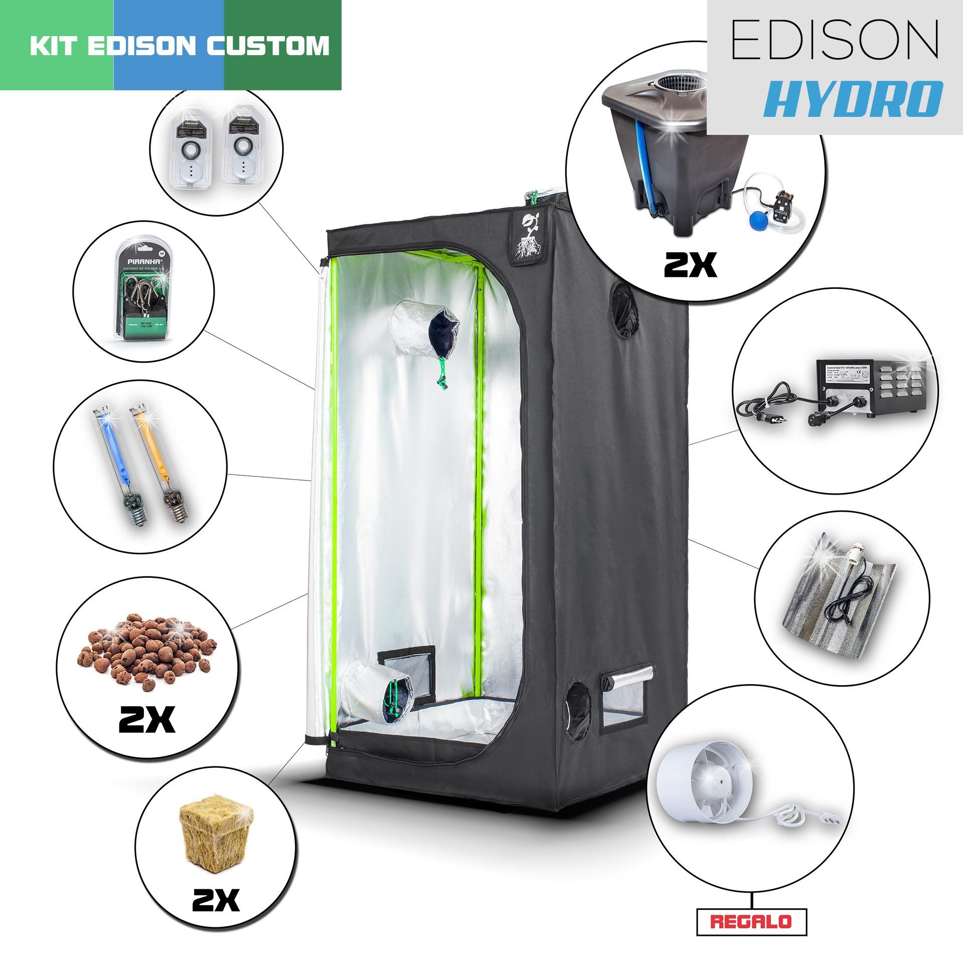 Kit Edison Hydro 80 - 250W Custom