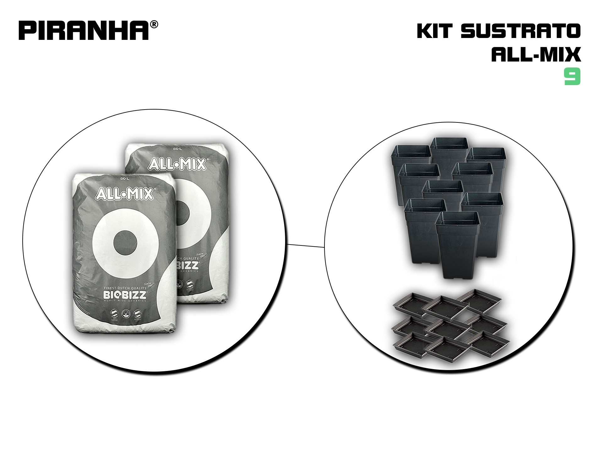 Kit Sustrato 9 All-Mix