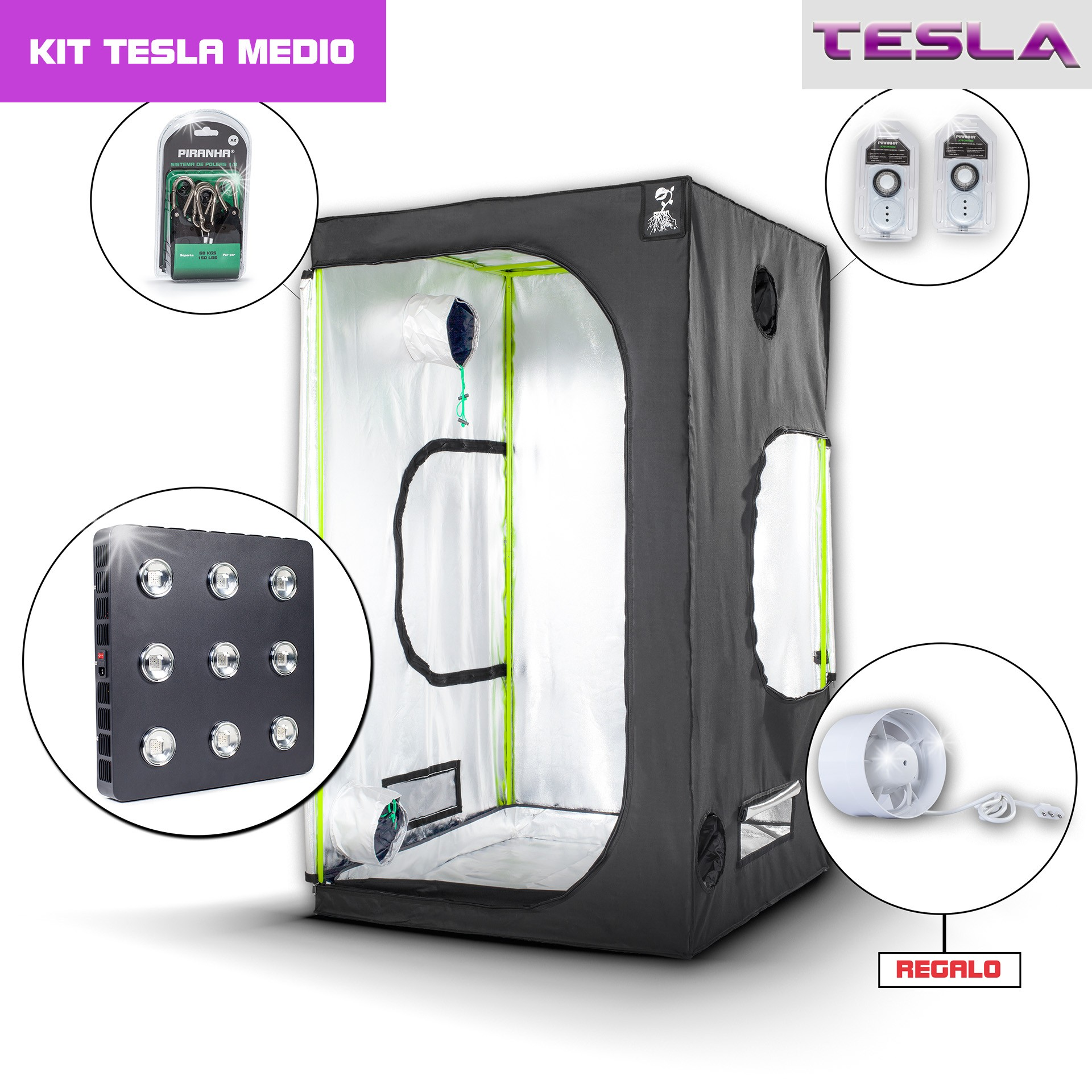 Kit Tesla 120 - T810W Medio