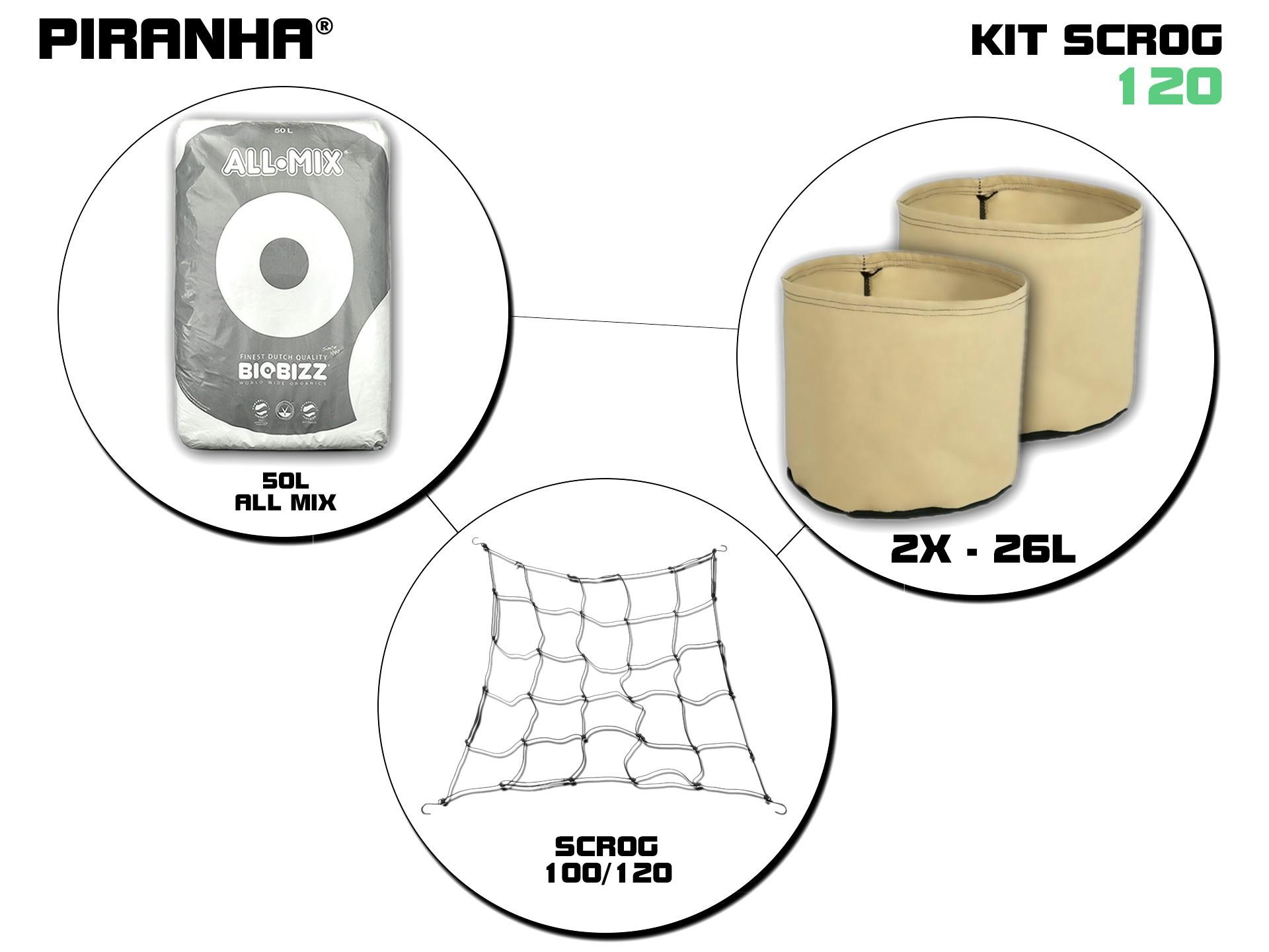Kit SCROG 120