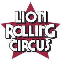 lion rolling circus logo